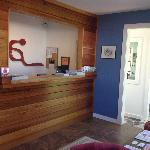 Brand New reception area