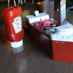 """""""Freighter"""" condiment rack"""