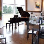 We feature live musical performances on a regular basis.