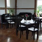 A lovely setting for afternoon tea or lunch