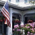 A welcoming front porch