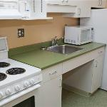 Fully equipped efficiency apartments