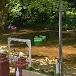 Swings on the Chattahoochee River