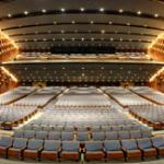 Sony Centre seating, from stage