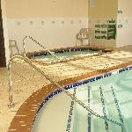 Indoor Pool and Jacuzzi (new ADA fixed lifts available - not yet shown in photo)