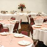 Liberty Inn Banquet Room with full catering available - seats up to 100 persons