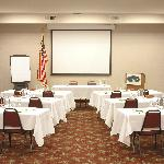 Libery Inn Meeting Room with full audio visual capabilites - seats up to 100 persons
