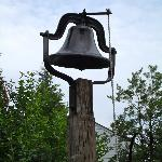 The dinner bell (although you won't hear it because they serve breakfast!)