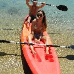 Canoeing on crystal waters to get started..