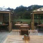 Toby's outdoor terrace and gazebo's
