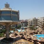 widok z części Resort
