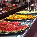 breakfast in the Rambutan restaurant