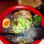 Charcoal Soup Ramen Bowl
