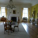 A main living room within the castle