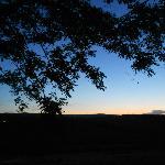 tramonto dal casale