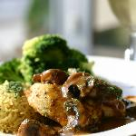 Chicken Marsala from Spinner's Bar & Grille