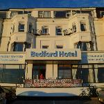 front of the bedford hotel