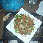 Salad in house vinaigrette