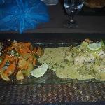 Mahi mahi in Chardonnay beurre blanc sauce
