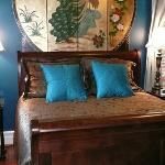 Peacock Guest Room