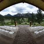 Wedding Pavilion - perfect for your ceremony