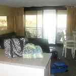 Sitting/kitchen area