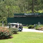 The first tee area