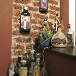 Detalhe do quarto Tango Bar - 2011