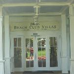 Entrance to Villas