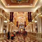 The lobby in The Venetian beautiful, just beautiful!