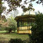 Old and aged bandstand rotunda