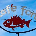 Cafe Foro under blue skies