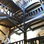Knarrendes Treppenhaus