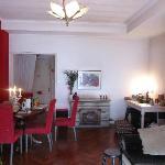 Living-Room Casa Rosa