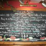 The ever changing Specials board