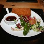 Crumbed Deep Fried Brie (£4.99)