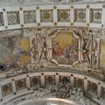 ...Fresken im Gewölbe....