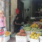 Local fruit vendor