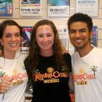 Me and two of the best staff - Helen and Marco! :)