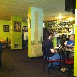 interior of restaurant (bar area)