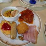 ベッラ・ヴィスタラウンジでの朝食2