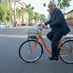 Everyone rides a bike