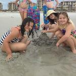 Great time on the beach at Amelia Island!