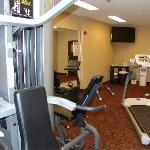 Work up a sweat in our Fitness Room open 24 hrs.