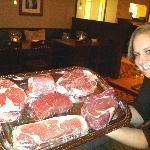 Fresh Cut Steaks from The Original Stock Yards Meat Co. Chicago, IL