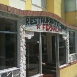 Exterior of Restaurante a Fornalha at Nazare