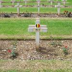 Tombe d'un soldat belge