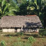 typical Q'eqchi' house