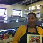 The chef @Potters Asmaralda !