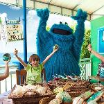 Dining with Cookie Monster at Beaches Boscobel Resort & Golf Club